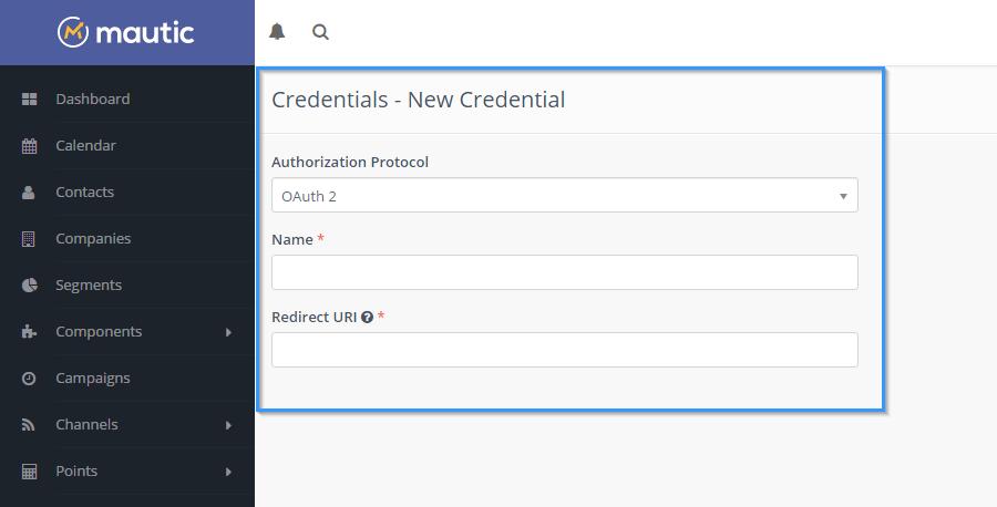 mautic-credentials